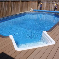 99 Smart pool with decking