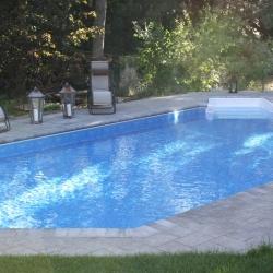pool shape grecian