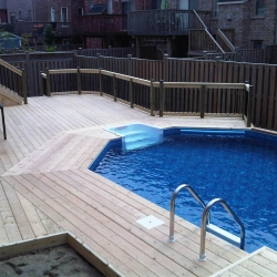 New backyard installation