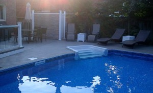 Onground pool installation