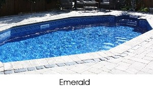 Emerald shaped pool