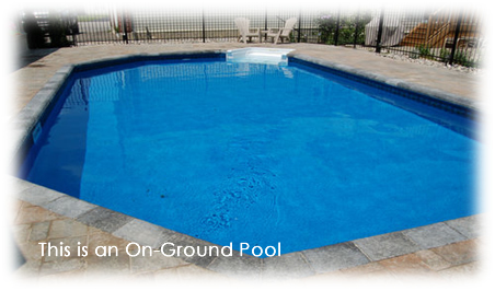 in ground swimming pool. This Is An On-Ground Pool. \u201c In Ground Swimming Pool S