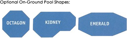 Optional Pool shapes