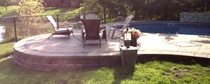 Retaining Wall for backyard pool surround