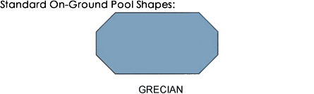 Standard pool shapes